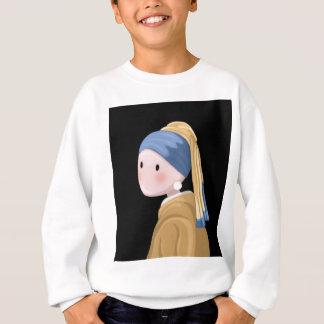 Girl with a Pearl Earring Sweatshirt