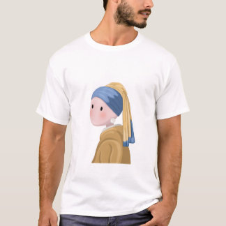 Girl with a Pearl Earring T-Shirt