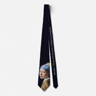 Girl with a Pearl Earring Tie