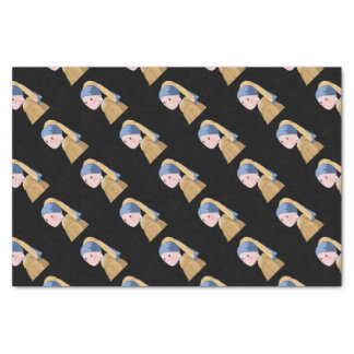 Girl with a Pearl Earring Tissue Paper