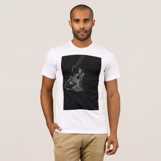 girl with a sitar tshirt