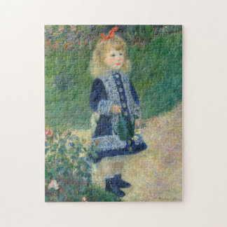 Girl with a Watering Can by Auguste Renoir Puzzle