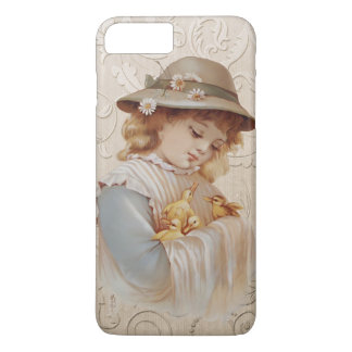 Girl with Baby Ducks iPhone 8 Plus/7 Plus Case