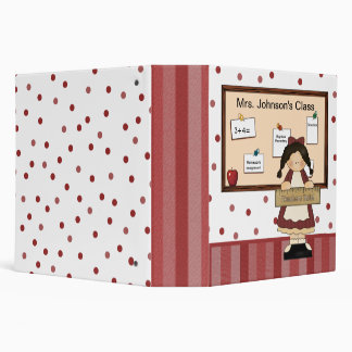 Girl with Bulletin Board Teacher s Binder