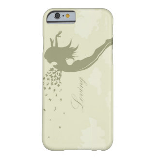 girl with butterflies barely there iPhone 6 case