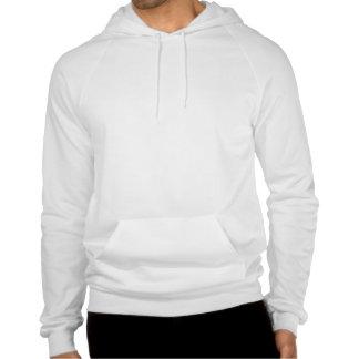 Girl With Cat Hooded Sweatshirt