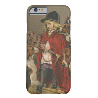 Girl with Foxhounds Barely There iPhone 6 Case