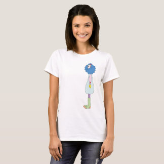 Girl with Mittens T-Shirt