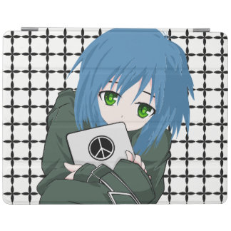 Girl with Tablet iPad Cover
