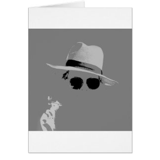 GIrl With The Hat & Shades Card