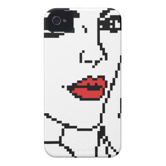 Girl with the red lips iPhone 4 cases