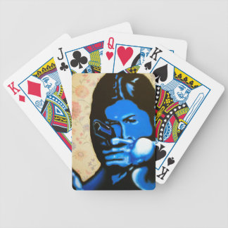"""Girl with Two Guns"" by Axel Bottenberg Bicycle Playing Cards"