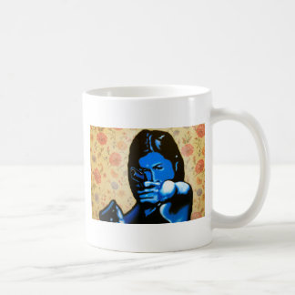 """""""Girl with Two Guns"""" by Axel Bottenberg Coffee Mug"""
