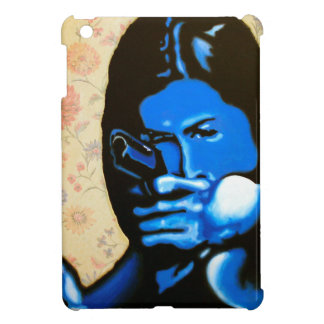"""Girl with Two Guns"" by Axel Bottenberg Cover For The iPad Mini"