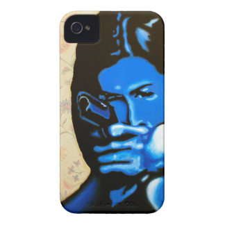"""Girl with Two Guns"" by Axel Bottenberg iPhone 4 Cover"