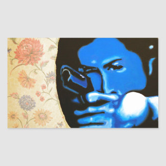 """Girl with Two Guns"" by Axel Bottenberg Sticker"