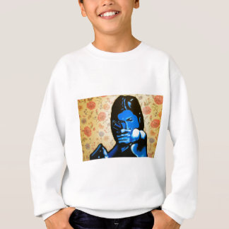 """""""Girl with Two Guns"""" by Axel Bottenberg Sweatshirt"""