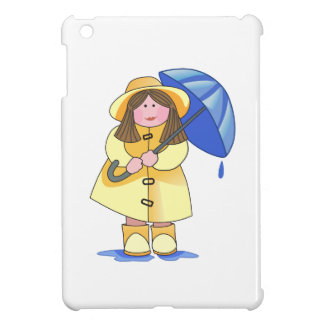 GIRL WITH UMBRELLA iPad MINI CASE