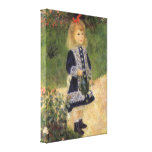 Girl with Watering Can, Renoir, Impressionism Art