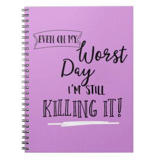 """#girlboss """"Killing It!"""" Notebook/Journal Notebooks"""
