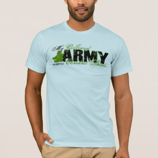 Girlfriend Combat Boots - ARMY T-Shirt