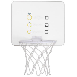 Girlfriend Fiancee Wife hen Party Zno5a Mini Basketball Hoop