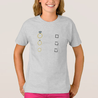 Girlfriend Fiancee Wife hen Party Zno5a T-Shirt