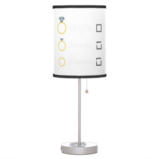 Girlfriend Fiancee Wife hen Party Zno5a Table Lamp
