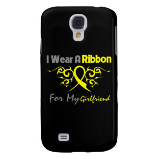 Girlfriend - I Wear A Yellow Ribbon Military Suppo