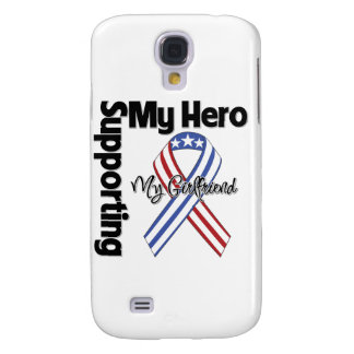 Girlfriend - Military Supporting My Hero Samsung Galaxy S4 Covers