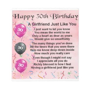 Girlfriends 30th Birthday Gifts On Zazzle CA