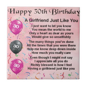Girlfriends 30th Birthday Gifts On Zazzle CA