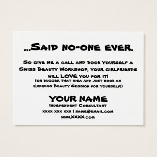 Girlfriends Business Card