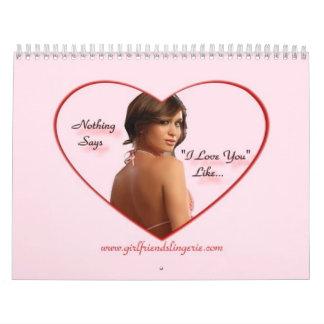 Girlfriends Lingerie - Calendar