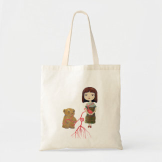 girlheartbear tote bag
