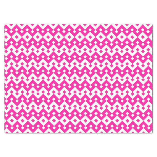 Girlie Candy Pink and White Tissue Paper Sheet