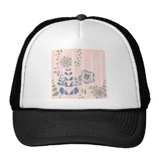 Girlie flowers hats