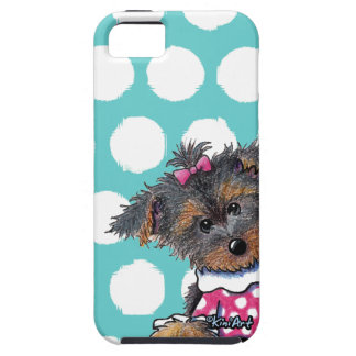 Girlie Girl Yorkie iPhone 5 Covers