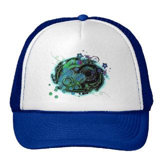 Girlie Swirly Trucker Hat