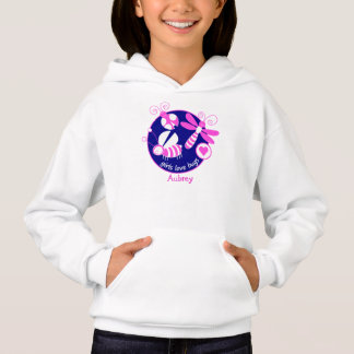 GIRLMPOWER BRIGHT PINK GIRL INSECT/BUG CUSTOMIZED