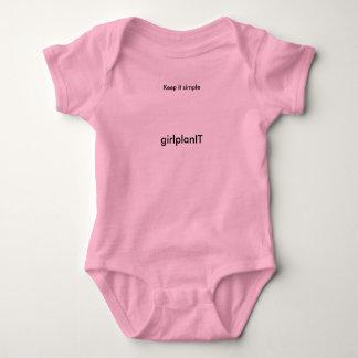 GirlplanIT onsies Baby Bodysuit