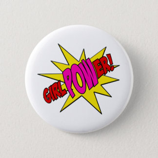 GirlPOWer 2 Inch Round Button