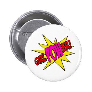 GirlPOWer 2 Inch Round Button
