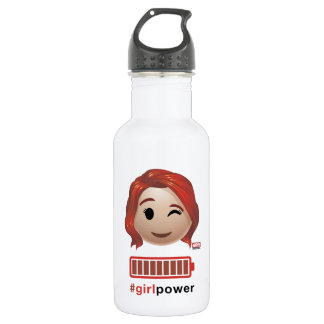 #girlpower Black Widow Emoji 532 Ml Water Bottle