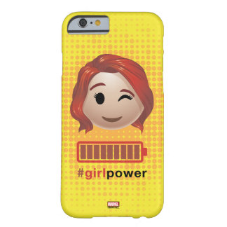 #girlpower Black Widow Emoji Barely There iPhone 6 Case