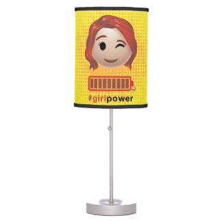 #girlpower Black Widow Emoji Desk Lamps