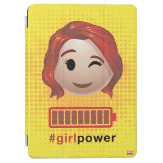 #girlpower Black Widow Emoji iPad Air Cover