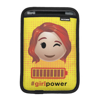 #girlpower Black Widow Emoji iPad Mini Sleeve