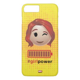 #girlpower Black Widow Emoji iPhone 8 Plus/7 Plus Case