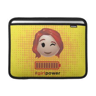 #girlpower Black Widow Emoji MacBook Sleeves